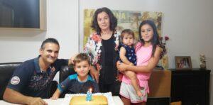 Foto de família de Juanjo Lozano